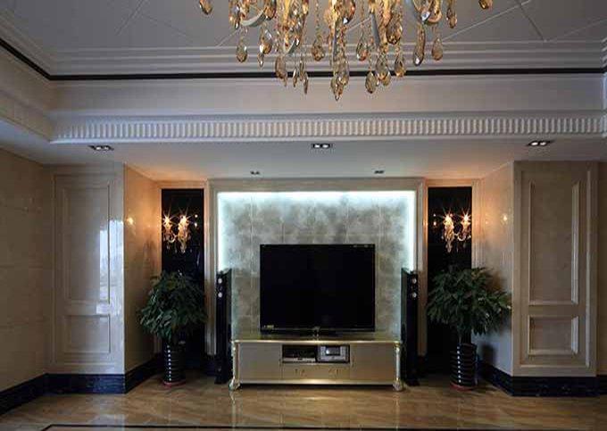 最新客厅电视背景墙装修效果图大全